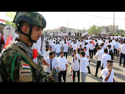 Students Protest In Basra, Defying Government And Parents | AFP