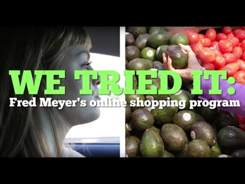 We tried it: Fred Meyer's online shopping program