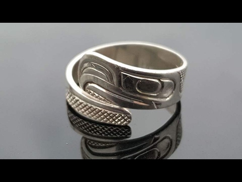 Silver Native Eagle Ring (1st 2017 Park Hunt)