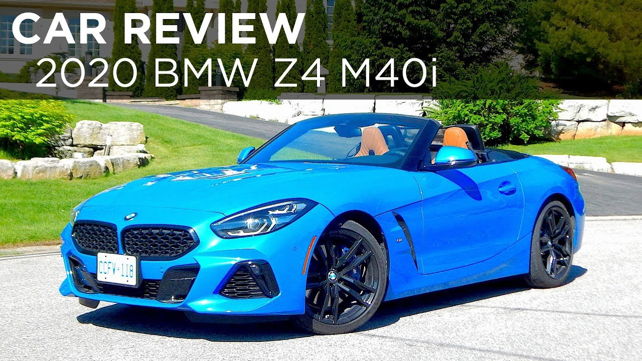 2020 Bmw Z4 M40i Car Review Driving Ca Youtube
