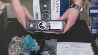 Обзор MP3-ресивера Alpine iDA-X311