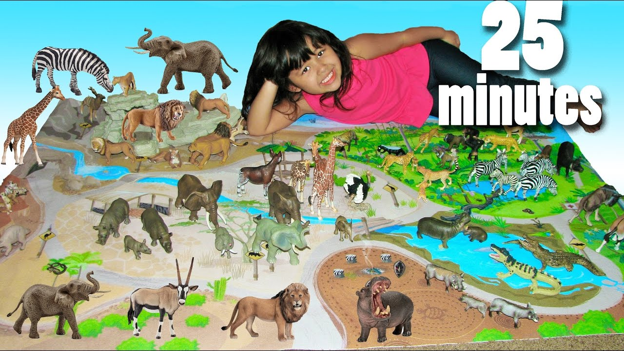 Educational Learn Animal Names And Sounds With Safari