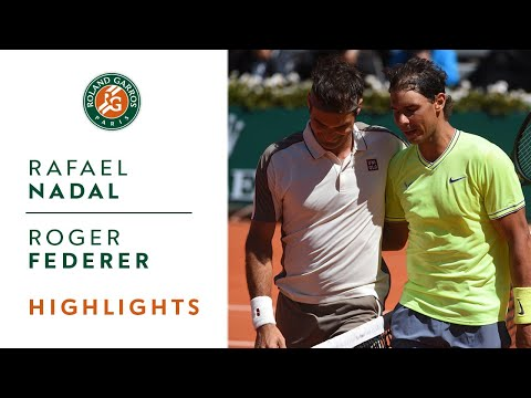Rafael Nadal vs Roger Federer - Semi-final Highlights | Roland-Garros 2019