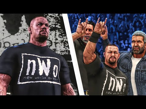 John Cena Returns To WWE & Joins The nWo (WWE 2K Story)