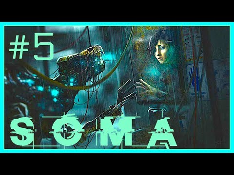 Let's Play SOMA #5 - Killed the first robot, first contact to others