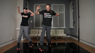 no-repetition-routine 1: toe jamming (roller skating tutorial)