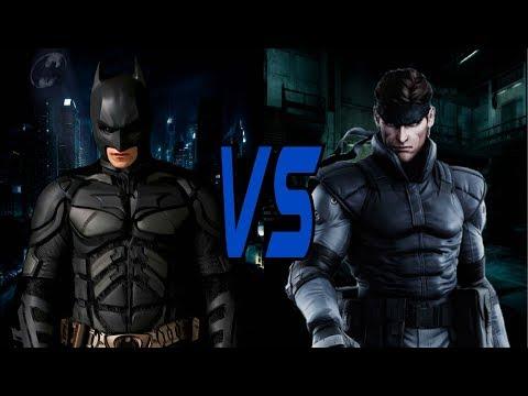 BATMAN VS. SOLID SNAKE: ¿Quién Gana? - La Opinión De Mr.Bob