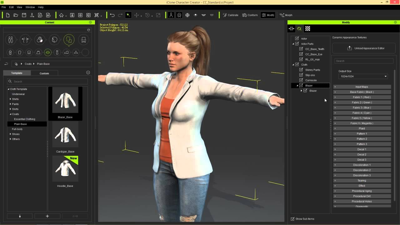Iclone character creator tutorial creating custom for 3d editor online