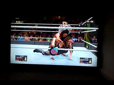 WWE 2K18 Gameplay - Nikki Bella vs. Stephanie McMahon