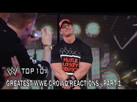 Greatest WWE Crowd Reactions - Part 1 - WWE Top 20