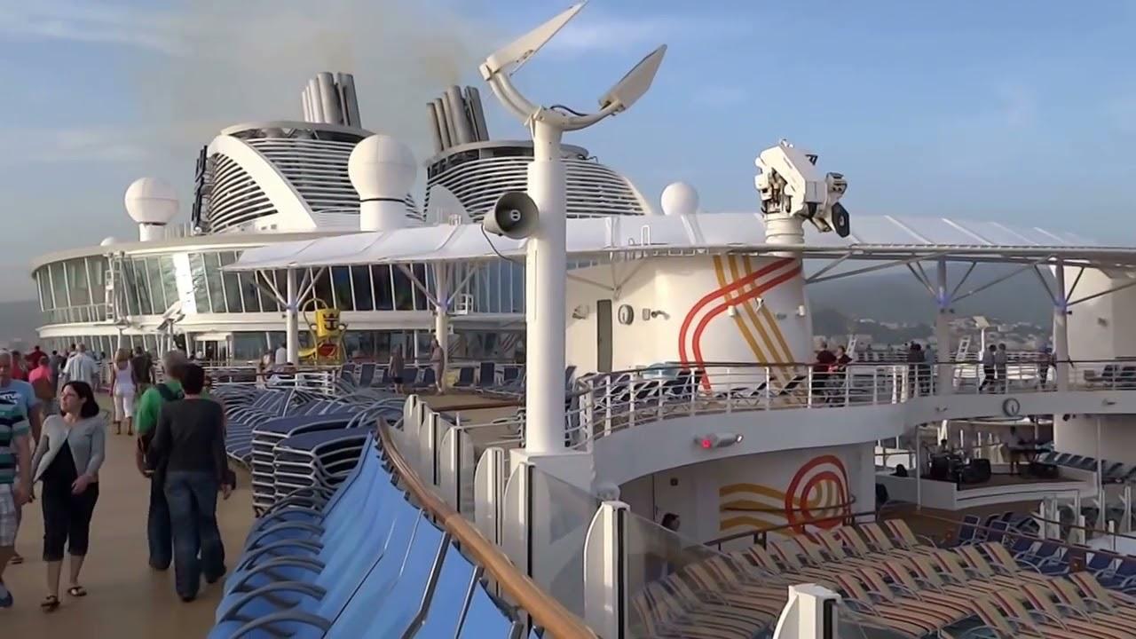 cruising next to the pool