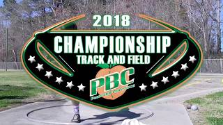 UNCP Hosting the 2018 PBC Track and Field Championships