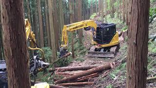 高性能林業機械 住友建機ストロークハーベスタ【KESLA】