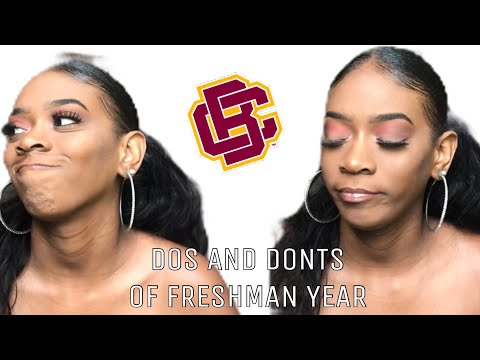 DO'S AND DONTS FOR INCOMING FRESHMANS || HBCU EDITION || BETHUNE COOKMAN UNIVERSITY