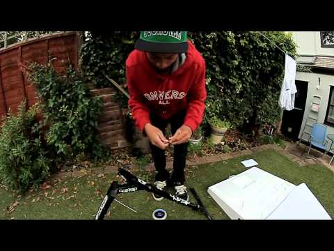 Brandon James | V4 scooter (UK version)