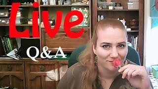 ВИДЕО ВЖИВУЮ! #2 LIVE Отвечаю на вопросы. Answering questions. Valentina Ok Live Stream