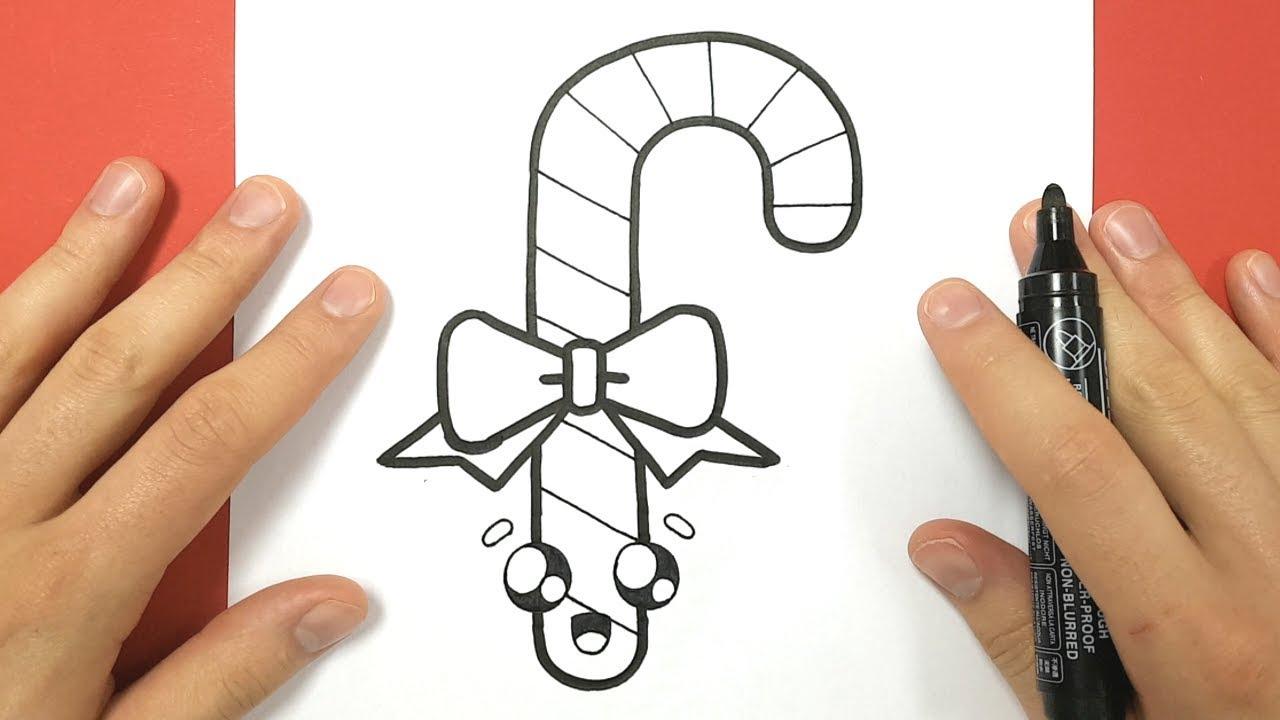 Comment Dessiner Un Sucre D Orge Kawaii Avec Un Noeud Papillon Youtube