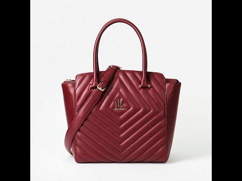 Классическая сумка Lucia Lombardi 896 Bordo