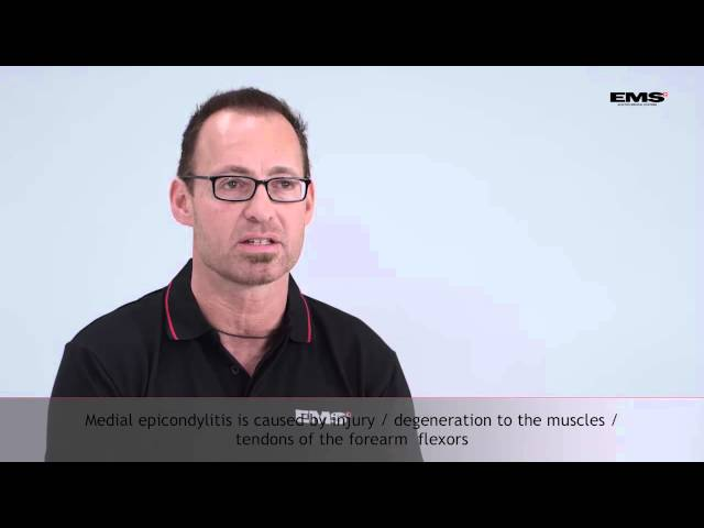 Treatment of lateral and medial epicondylitis