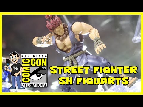 Street Fighter SH Figuarts Figure Reveals at San Diego Comic Con 2017