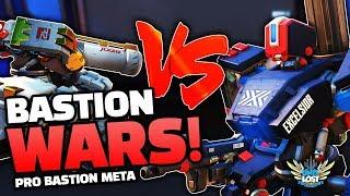 Overwatch - Bastion Vs Bastion! Pro Bastion Barrier Meta?! [ProOverAnalyzed]