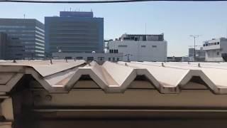 東京メトロ有楽町線10000系各駅停車新木場行き車窓 豊洲→新木場