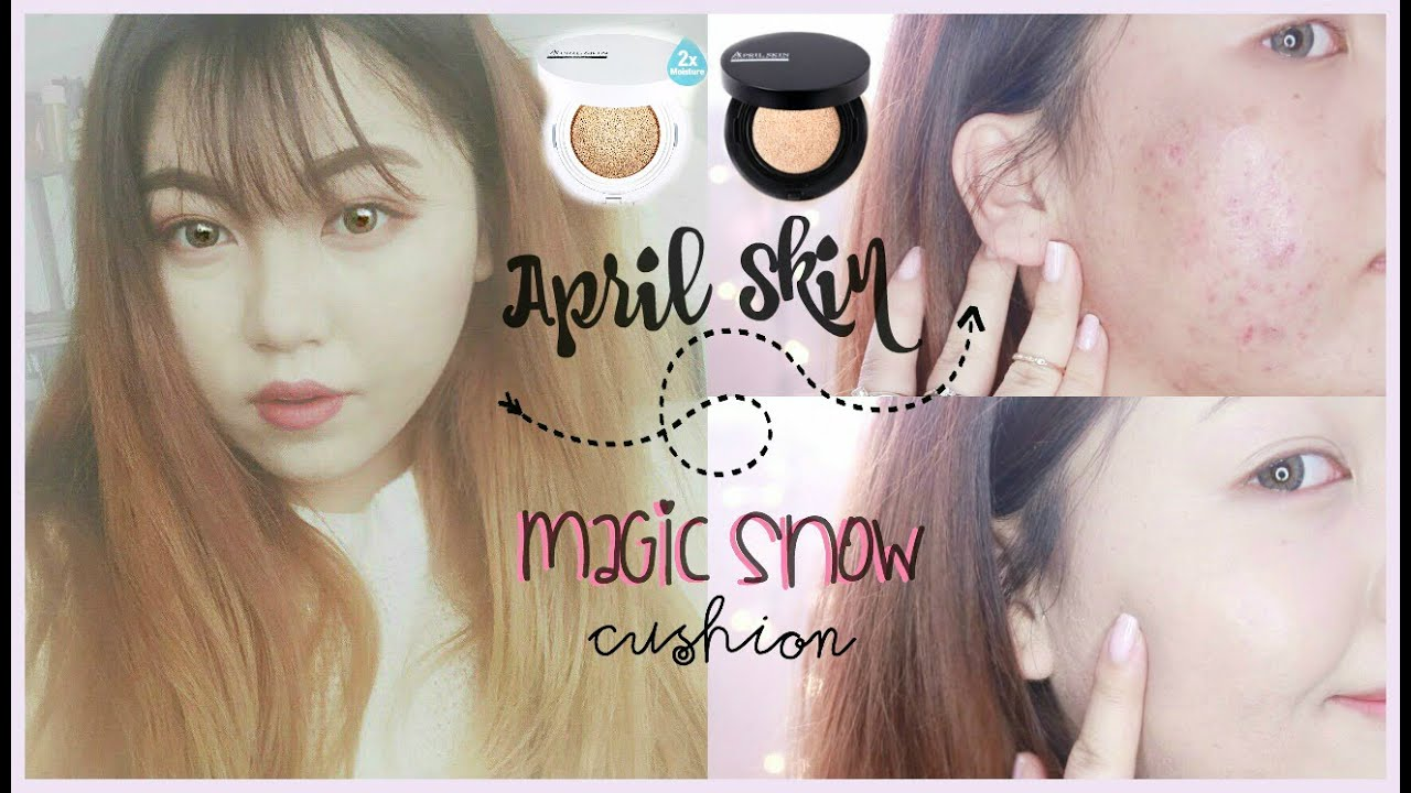 Acne Skin April Skin Magic Snow Cushion Review