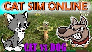 КОТЫ против СОБАК! КТО ПОБЕДИТ? Cat Sim Online для Android