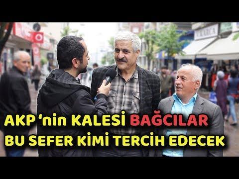 AKP 'nin KALESİ BAĞCILAR KİME OY VERMEYİ DÜŞÜNÜYOR | EKREM İMAMOĞLU vs BİNAL