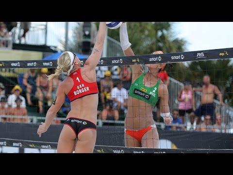 Lima/Fernanda (BRA) vs. Borger/Büthe (GER) - 3rd place - St. Petersburg - Women World Tour