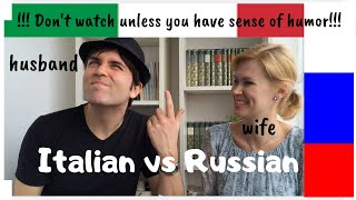 Repeat youtube video Learn Italian - Language challenge:  Italian vs Russian