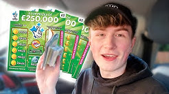I Bought 200 Scratch Cards AND WON £???? 🤑