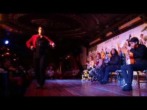Tablao Flamenco Villa Rosa. Jonatan Miró