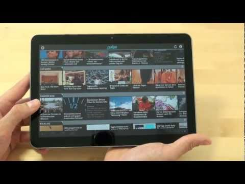 Samsung P7100 Galaxy Tab 10.1v Test Internet
