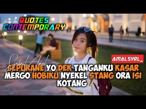 Quotes Caption Jowo Cocok Buat Status Wa #19