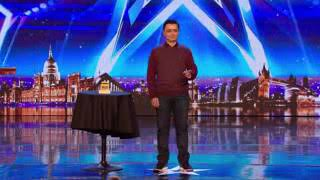 The most emotional and unbelieveable magic trick on BGT /GOLDEN BUZZER