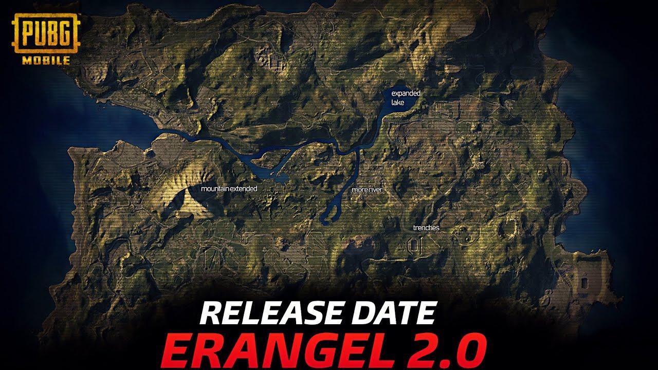 Finally PUBG Mobile Erangel 2.0 Official Release Date is Here