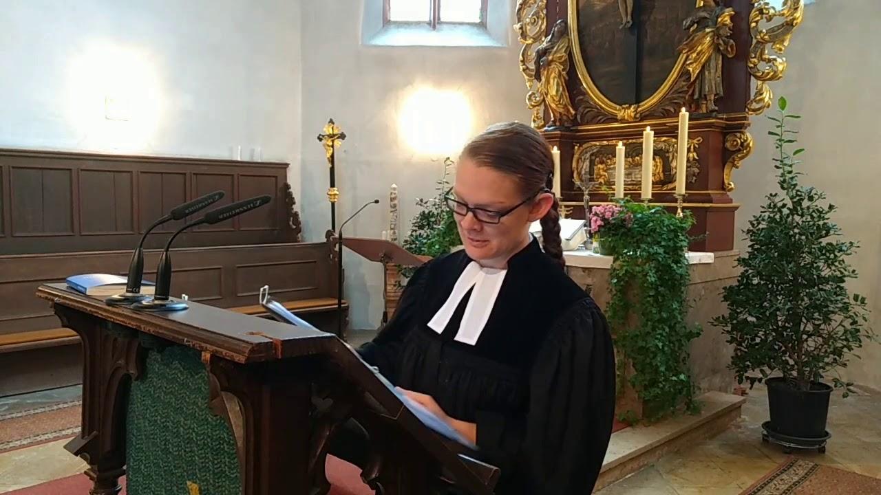 Gottesdienst übertragung
