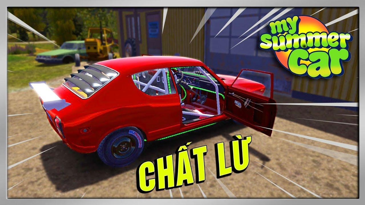 My Summer Car #18 | Đổi Màu Sơn & Độ Thành Xe Đua