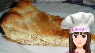 Ricetta torta rustica (con pasta sfoglia)