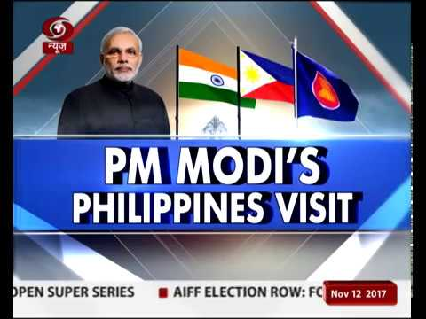 Manila: PM Modi arrives in Philippines