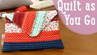 Quilt as You Go – Costura Comigo