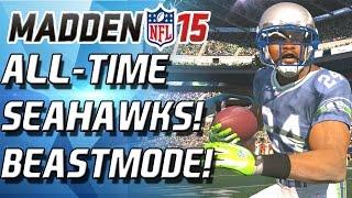 Madden 15 Ultimate Team - Marshawn Lynch! Initiate Beast Mode! - Mut 15