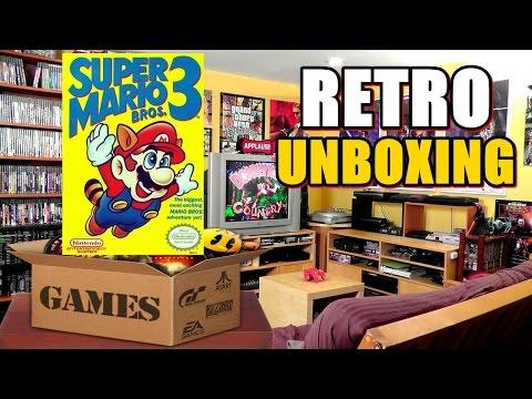 Retro Unboxing - Super Mario Bros 3 (Piloto)