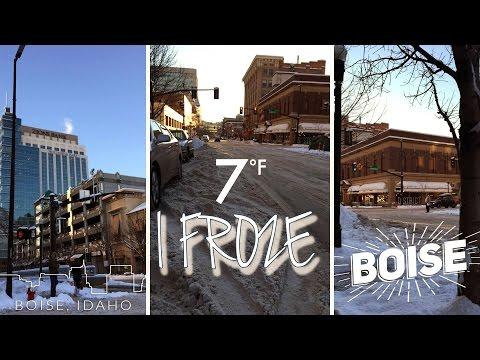 Boise, Idaho worst winter in 30 years!