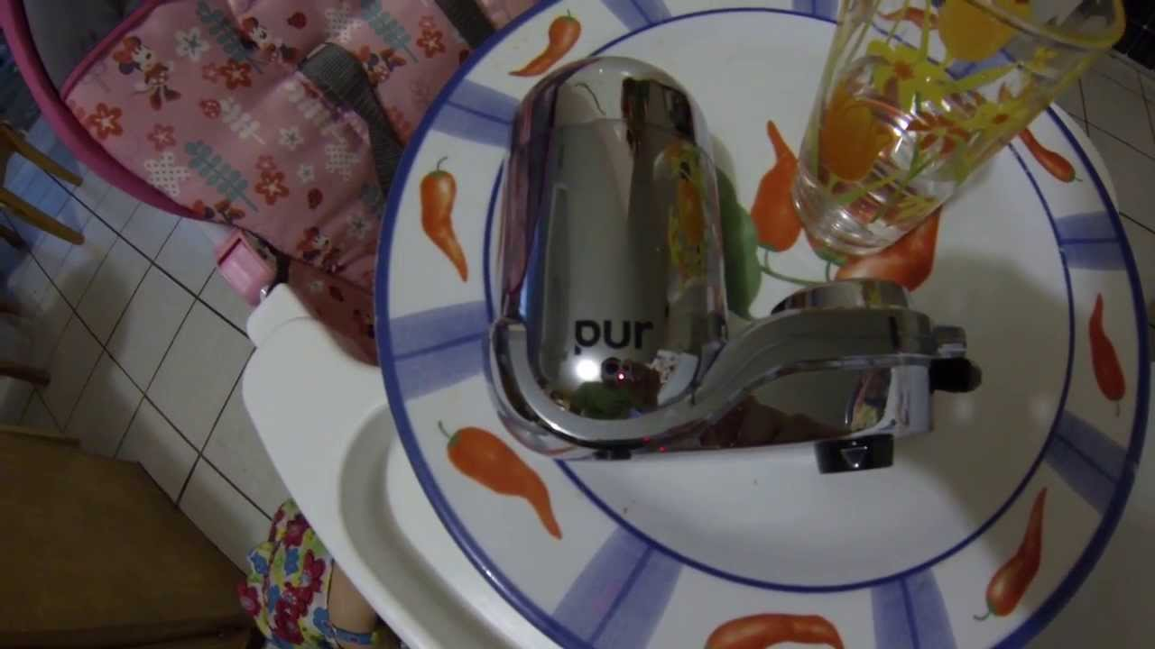 Pur Water Filtration System with mineral clear review - YouTube