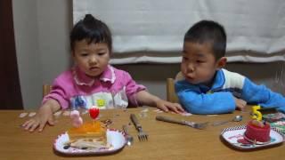 せんももお誕生日ケーキを食べる Kid's Birthday Cakes thumbnail