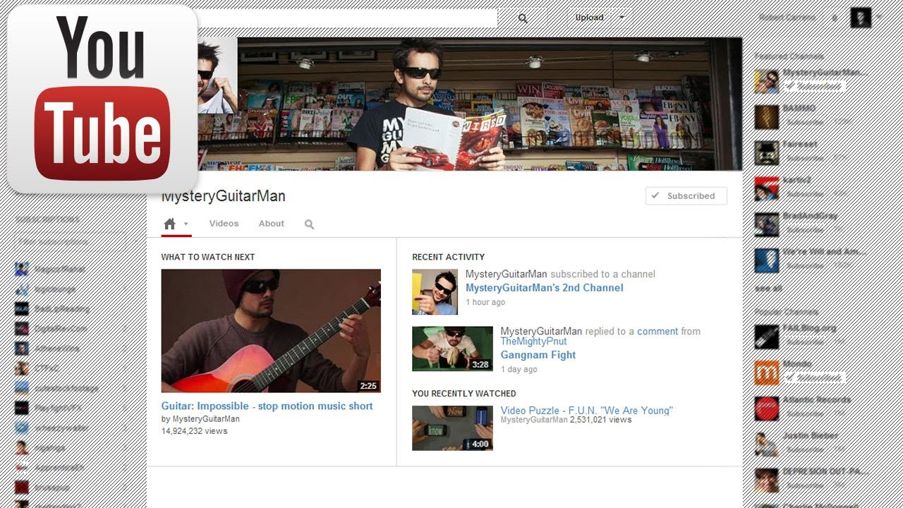 new youtube layout template youtube