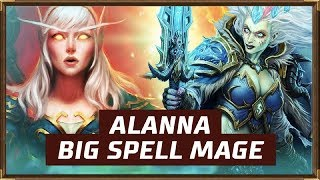 Alanna Big Spell Mage | The Witchwood | Hearthstone