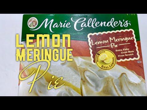Marie Callender's Frozen Lemon Meringue Pie Review
